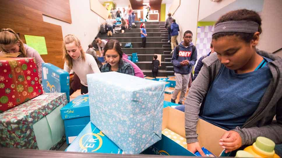 NSCDS Students Give Back
