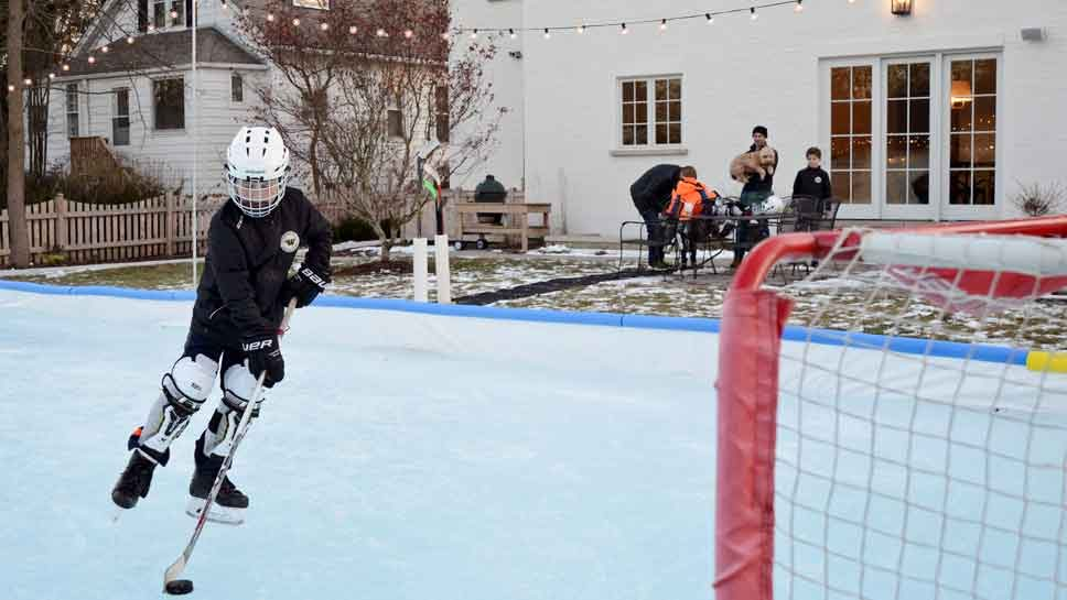 Backyards of Dreams: Homemade Ice Rinks
