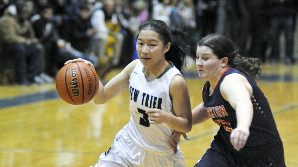 New Trier girls fall short against Evanston