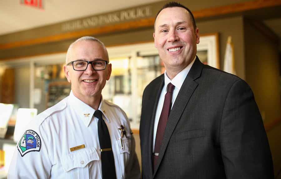 HP Deputy Police Chief Retires