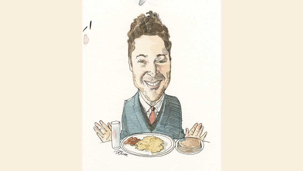 Sunday Breakfast with Josh Siegel