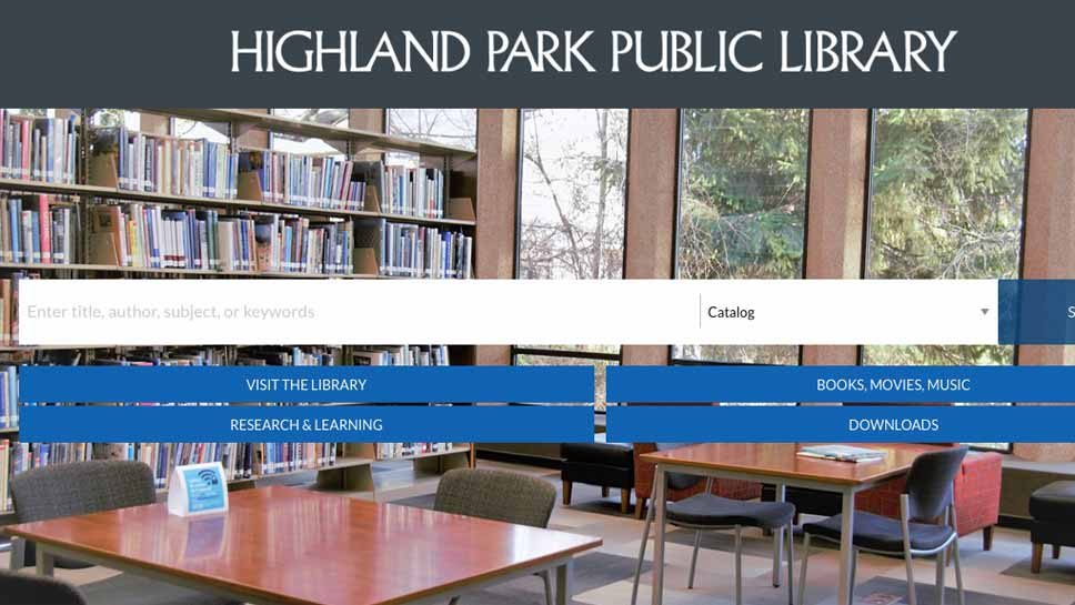 HP Library Gets New Website