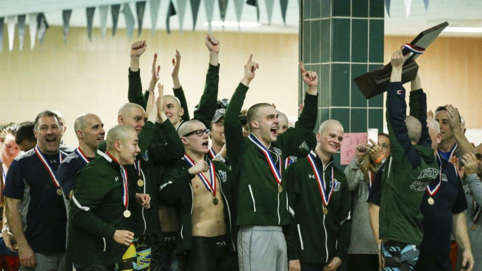 Sensational seniors carry NT to state swim title