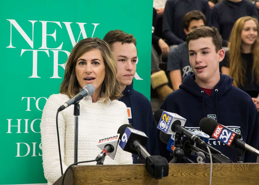 New Trier High School breaks record for most twins, multiples
