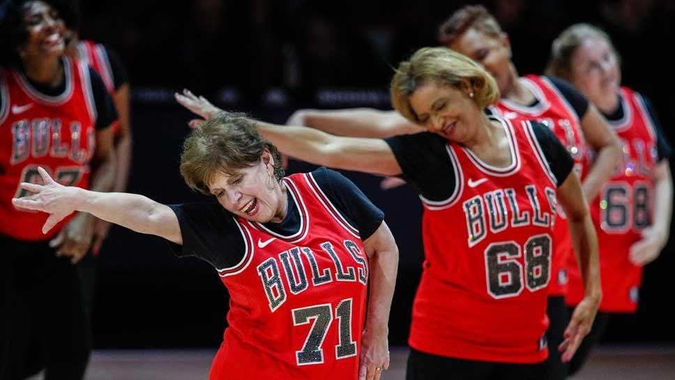 Swingin' Seniors Are Fan Faves at Bulls …