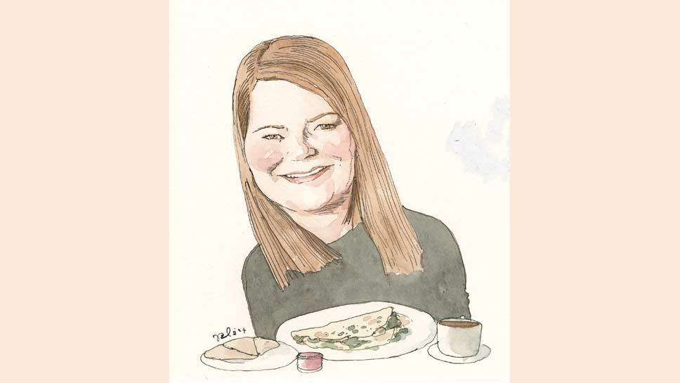 Sunday Breakfast with Ashley Blankstein-Delaney