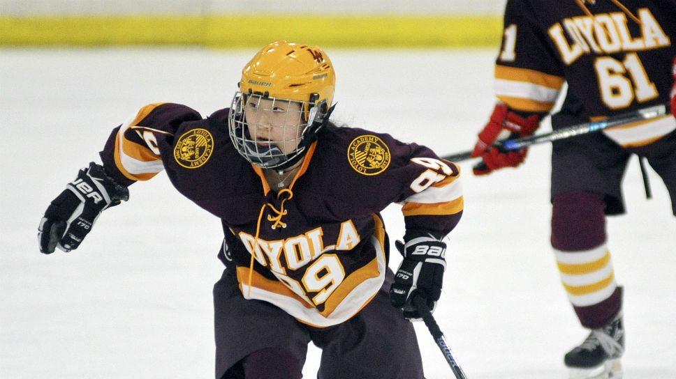 LA hockey star Park stuck in high gear