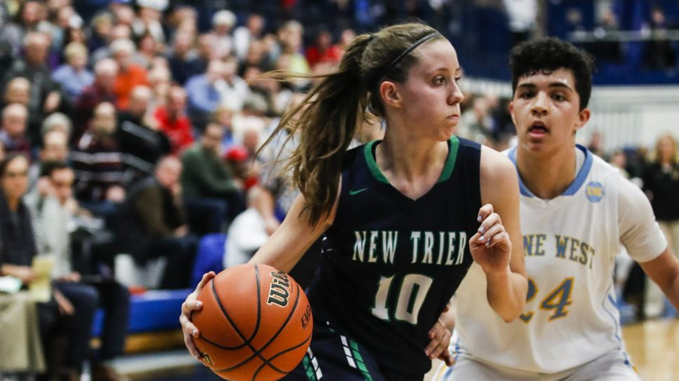 On the Hardwood: New Trier Girls