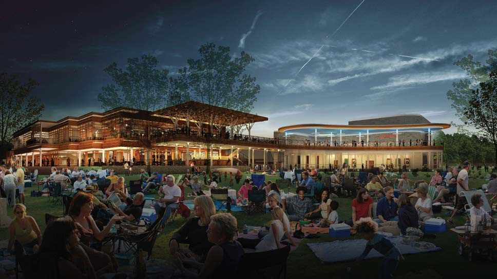 Ravinia Festival Opens New Dining Pavilion
