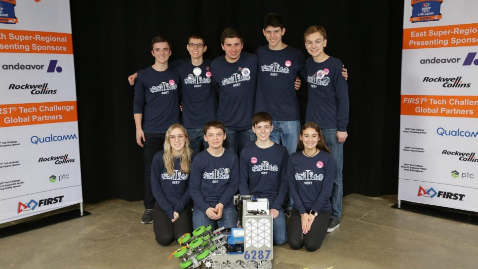 HP Robotics Heads to World Championship Tourney