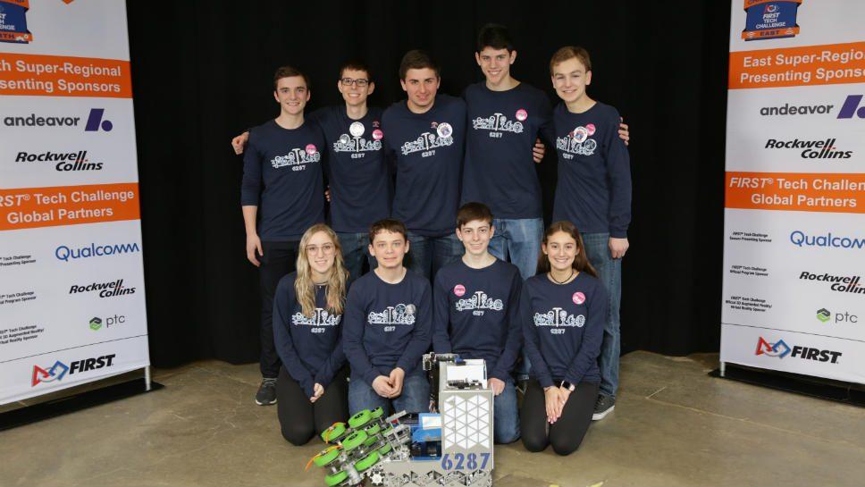 HP Robotics Heads to World Championship Tourney
