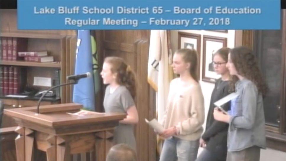 Middle School Students Plan Walkout