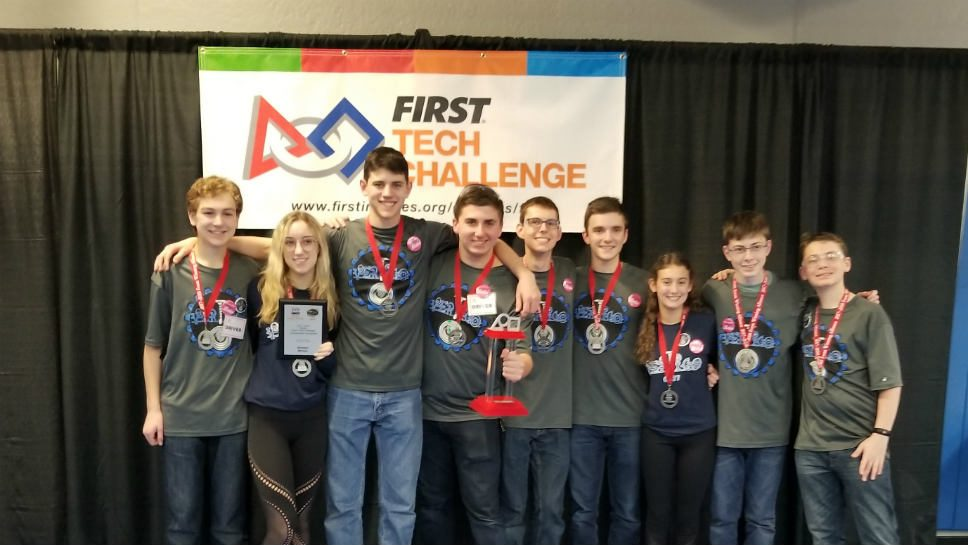 HP Robotics Team Crowned State Champs