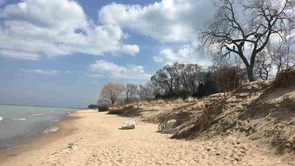Erosion Might End Swimming at Langdon Beach