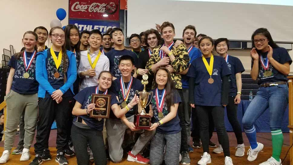 NT's Science Olympiad Team Takes State