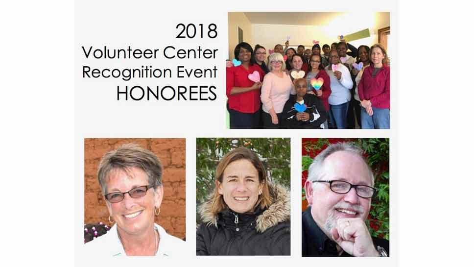 Honoring Four Exceptional Volunteers
