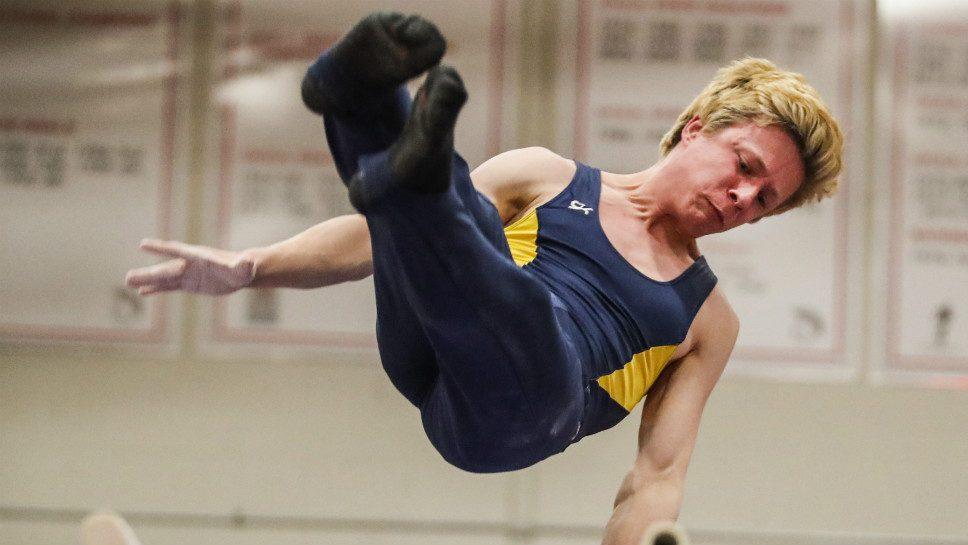 GBS's Pauker reaches peak at state gym meet
