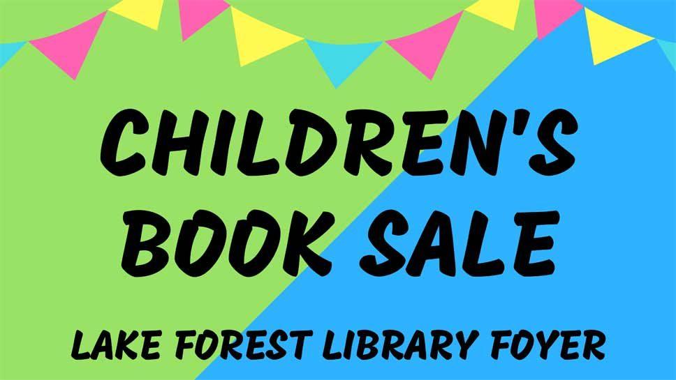 Children's Book Sale Ushers In Summer