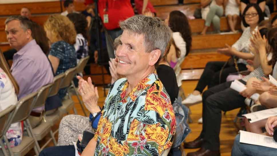 Wescott Music Teacher Bids Adieu