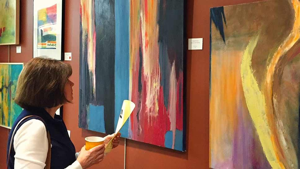 Event: Abstraction at North Shore Art League
