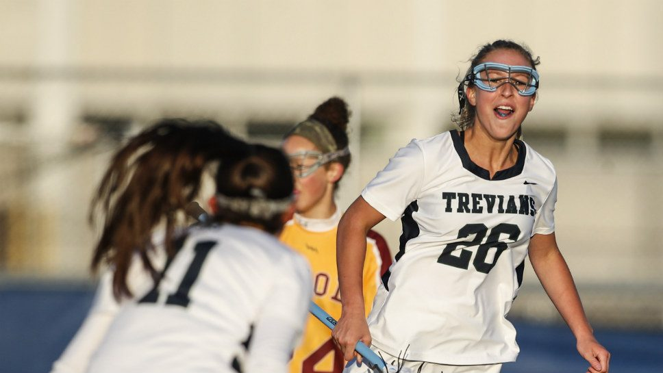 Kaskey a key playmaker for NT girls lacrosse