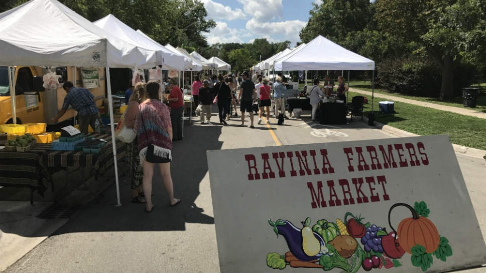 Ravinia Farmers Market: 40 Years Growing Strong