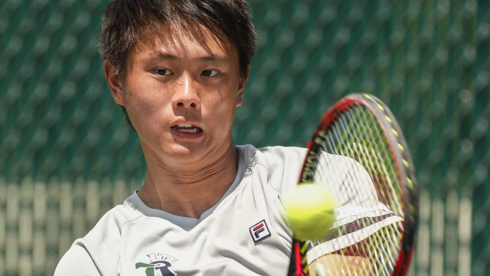Chen makes some more noise at state tennis