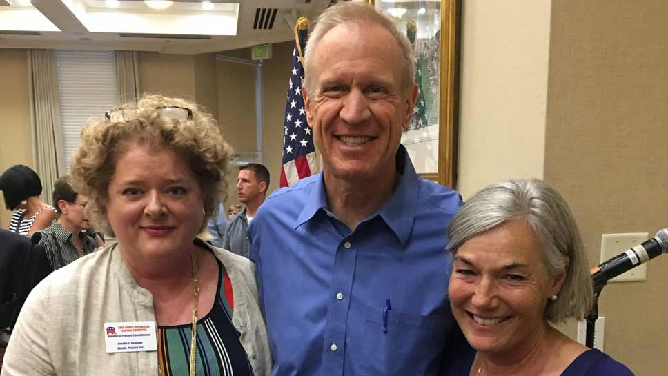 Rauner Addresses Women's Republican Club