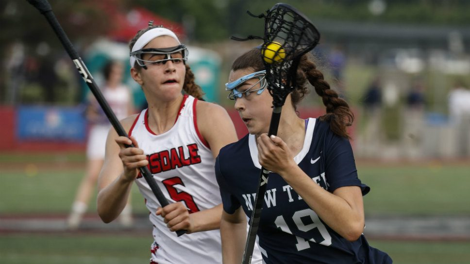 New Trier girls lacrosse nets silver at state