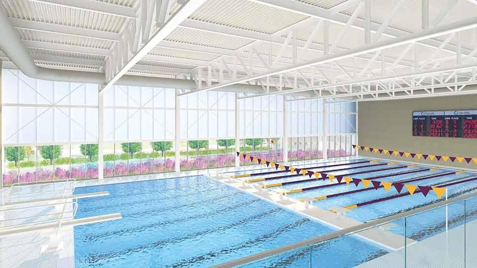 Loyola Dedicates Aquatic Center to Norcross