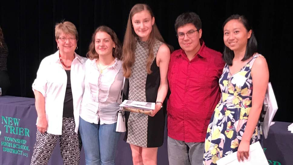 Wilmette Rotary Recognizes Scholarship Winners
