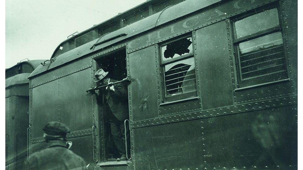Train Heist History