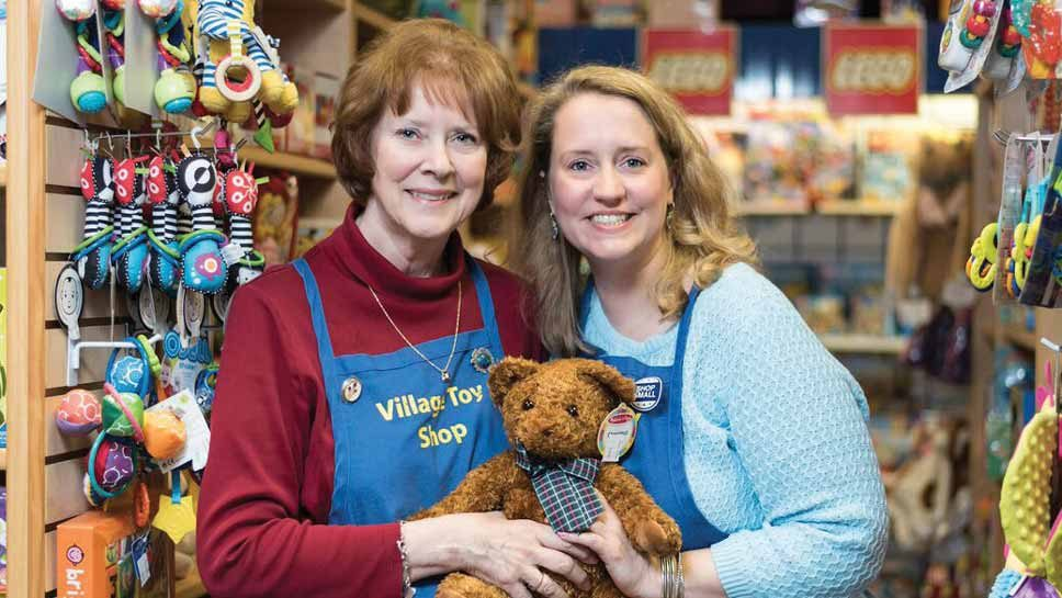 A HEARTFELT FAREWELL TO THE VILLAGE TOY SHOP