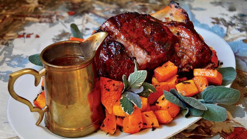 Maple Glazed Pork Shoulder With Butternut Squash …