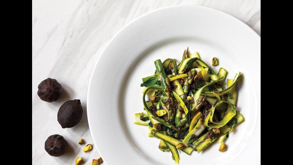 Asparagus Salad With Mint And Lemon