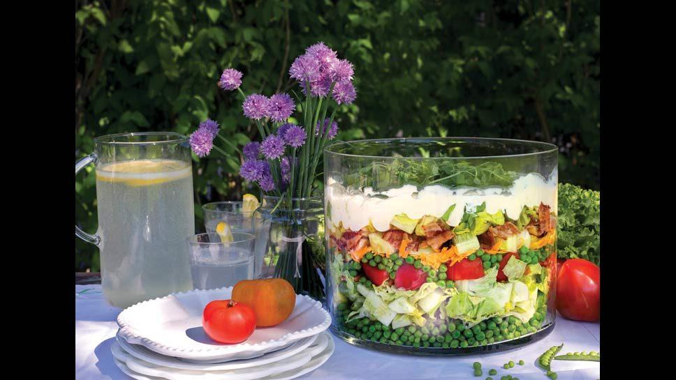 Seven-Layered Salad