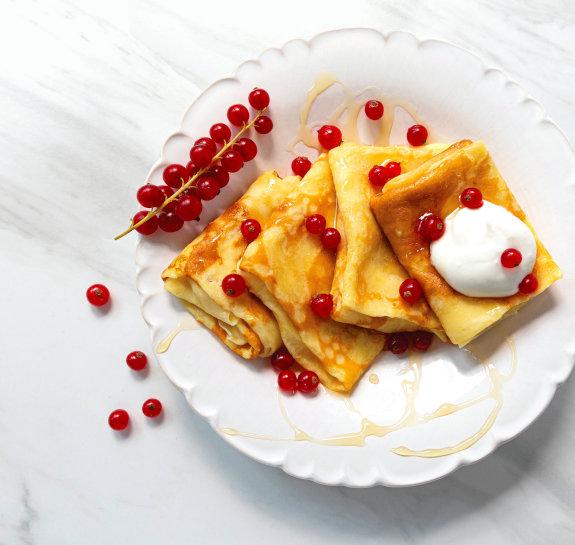 Swedish Pancakes (Plätter or tunnpannkakor)